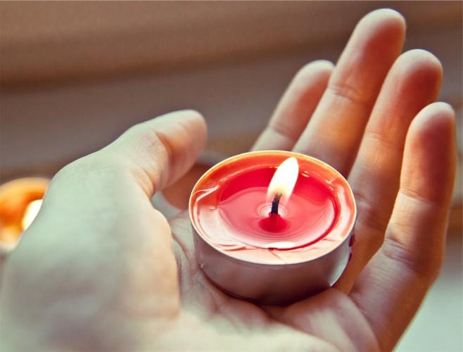 candele profumate per la vasca da bagno